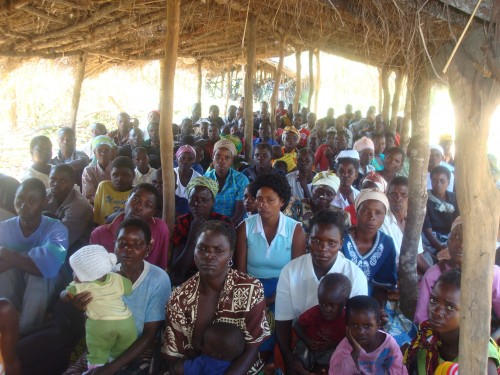 Lundazi area association meeting 2